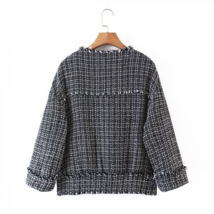 autumn woollen sweater for women wi..