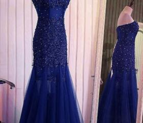 dark blue mermaid la..