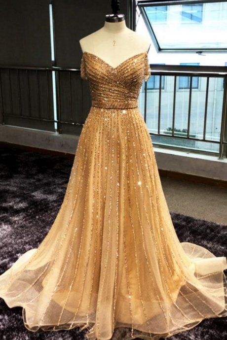 Shinny sequins ,prom dress off shoulder,party dress long sequins evening dress ,Floor Long Prom Dress , Long Prom/Evening Dress , New Fashion,Custom Made