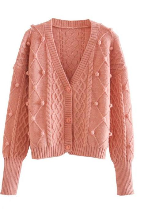 Autumn women's cardigan jacket