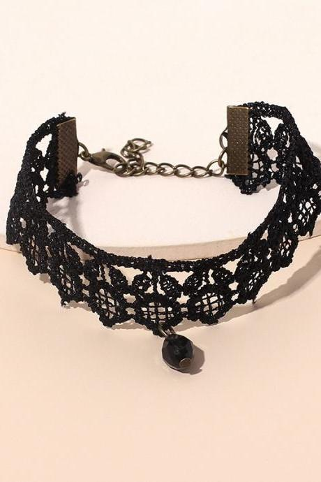 Gothic Diablo style, female fashion multi-layer bracelet combination suit, new accessories rope hand ornaments, handmade